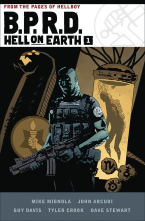 BPRD HELL ON EARTH VOLUME 1 HARDCOVER