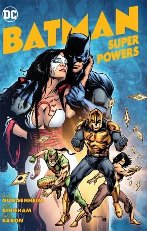 BATMAN SUPER POWERS GRAPHIC NOVEL