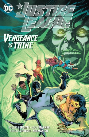 JUSTICE LEAGUE VENGEANCE IS THINE GRAPHIC NOVEL