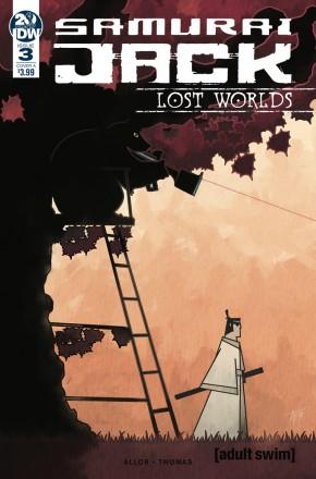 SAMURAI JACK LOST WORLDS #3