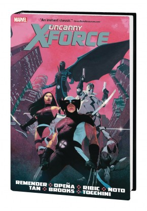 UNCANNY X-FORCE BY RICK REMENDER OMNIBUS HARDCOVER
