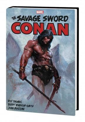 SAVAGE SWORD OF CONAN THE ORIGINAL MARVEL YEARS OMNIBUS VOLUME 1 HARDCOVER