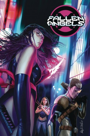 FALLEN ANGELS BY BRYAN HILL VOLUME 1 GRAPHIC NOVEL