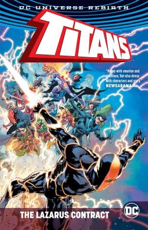 TITANS THE LAZARUS CONTRACT GRAPHIC NOVEL