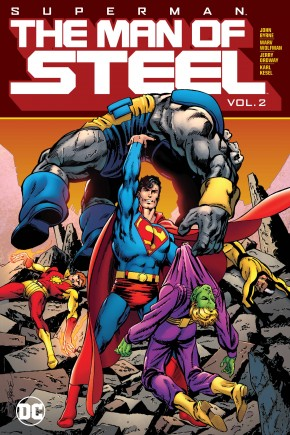 SUPERMAN THE MAN OF STEEL VOLUME 2 HARDCOVER