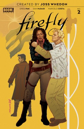 FIREFLY #2 (2018 SERIES) PREORDER QUINONES VARIANT