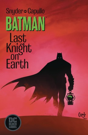 BATMAN LAST KNIGHT ON EARTH #1