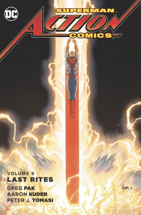 SUPERMAN ACTION COMICS VOLUME 9 LAST RITES GRAPHIC NOVEL