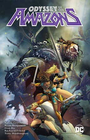 ODYSSEY OF THE AMAZONS GRAPHIC NOVEL