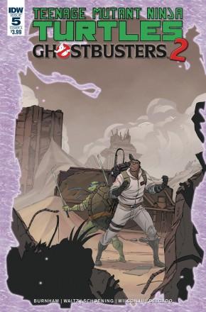 TEENAGE MUTANT NINJA TURTLES  GHOSTBUSTERS II #5