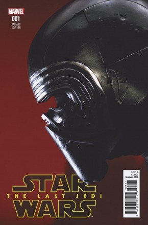 STAR WARS LAST JEDI ADAPTATION #1 MOVIE 1 IN 10 INCENTIVE VARIANT