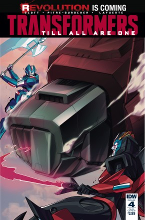 TRANSFORMERS TILL ALL ARE ONE #4 SUBSCRIPTION VARIANT COVER