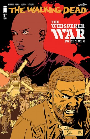 WALKING DEAD #157 COVER A ADLARD & STEWART