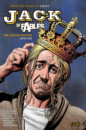 JACK OF FABLES BOOK 1 DELUXE HARDCOVER