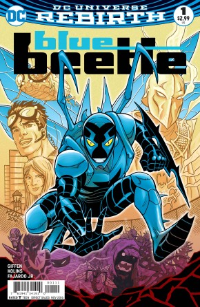 BLUE BEETLE VOLUME 4 #1