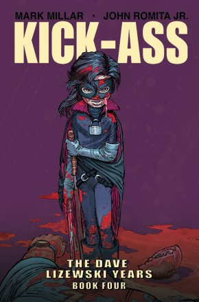 KICK-ASS DAVE LIZEWSKI YEARS VOLUME 4 GRAPHIC NOVEL