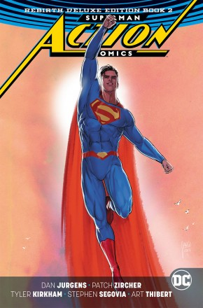 SUPERMAN ACTION COMICS REBIRTH DELUXE COLLECTION BOOK 2 HARDCOVER