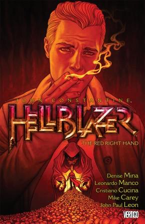 HELLBLAZER VOLUME 19 RED RIGHT HAND GRAPHIC NOVEL