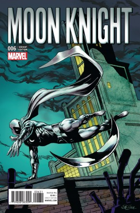 MOON KNIGHT VOLUME 8 #6 1 IN 15 INCENTIVE CLASSIC VARIANT COVER
