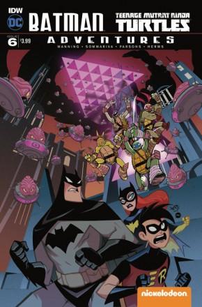 BATMAN TEENAGE MUTANT NINJA TURTLES ADVENTURES #6
