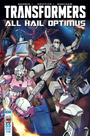 TRANSFORMERS #55 ROM VARIANT COVER