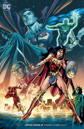 JUSTICE LEAGUE #18 (2018 SERIES) VARIANT