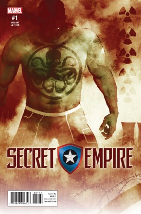 SECRET EMPIRE #1 SORRENTINO HYDRA HEROES VARIANT COVER