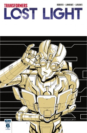 TRANSFORMERS LOST LIGHT #6 1 IN 10 INCENTIVE VARIANT COVER