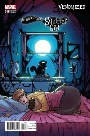 UNBEATABLE SQUIRREL GIRL #18 (2015 SERIES) LETH VENOMIZED VARIANT COVER