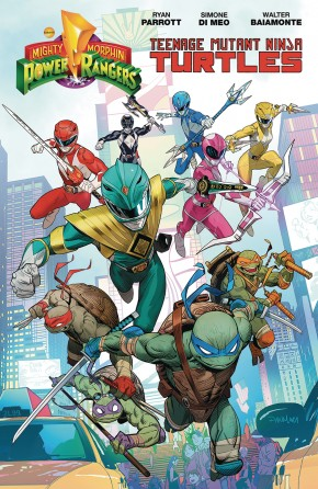 POWER RANGERS TEENAGE MUTANT NINJA TURTLES GRAPHIC NOVEL