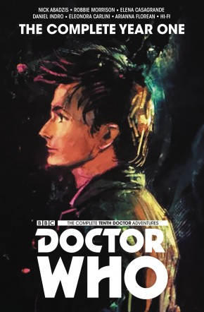 DOCTOR WHO THE TENTH DOCTOR THE COMPLETE EDITION YEAR ONE HARDCOVER