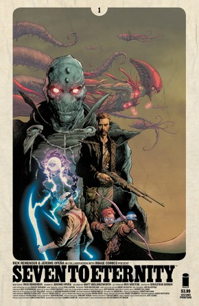 SEVEN TO ETERNITY #1 2ND PRINTING