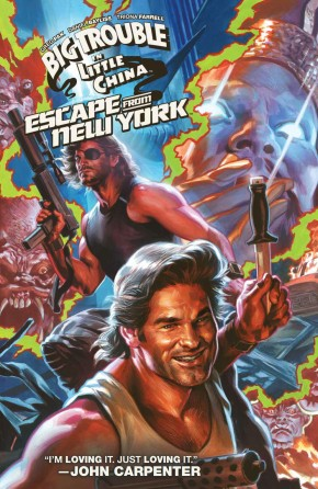 BIG TROUBLE IN LITTLE CHINA AND ESCAPE FROM NEW YORK GRAPHIC NOVEL