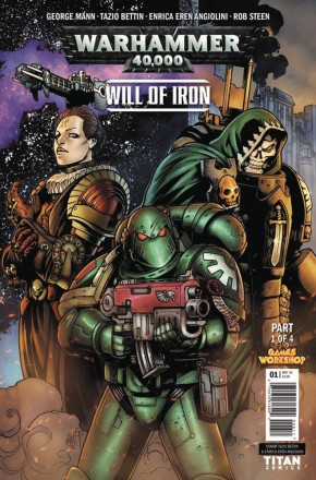WARHAMMER 40000 WILL OF IRON #1 (COVER A)