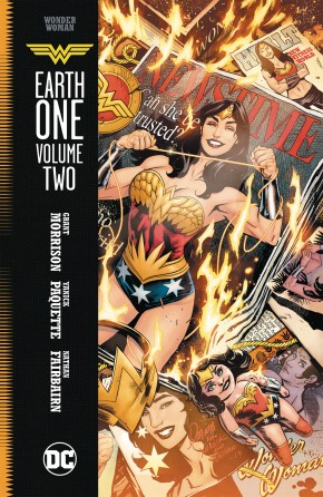 WONDER WOMAN EARTH ONE VOLUME 2 HARDCOVER