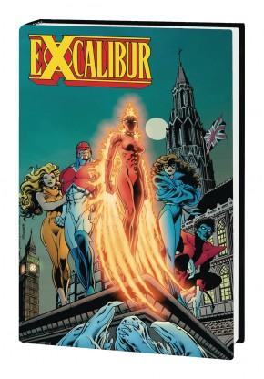 EXCALIBUR OMNIBUS VOLUME 1 DAVIS FIRST ISSUE COVER HARDCOVER