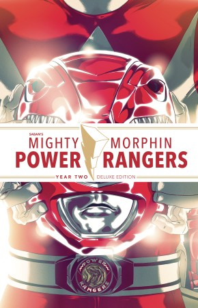 MIGHTY MORPHIN POWER RANGERS YEAR TWO DELUXE HARDCOVER