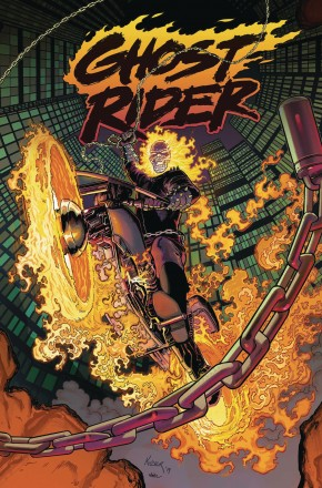 GHOST RIDER VOLUME 1 KING OF HELL GRAPHIC NOVEL