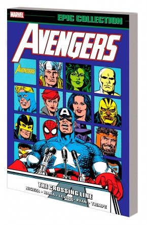 AVENGERS EPIC COLLECTION THE CROSSING LINE GRAPHIC NOVEL