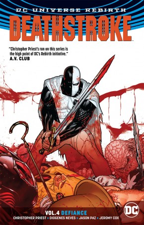 DEATHSTROKE VOLUME 4 DEFIANCE GRAPHIC NOVEL