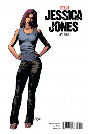 JESSICA JONES #1 DEODATO TEASER 1 IN 10 INCENTIVE VARIANT COVER