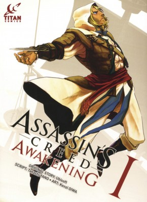 ASSASSINS CREED AWAKENING VOLUME 1 GRAPHIC NOVEL