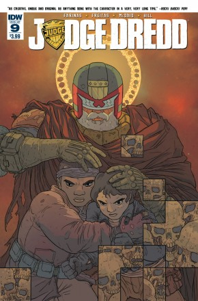 JUDGE DREDD (ONGOING) #9