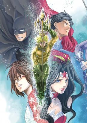 BATMAN AND THE JUSTICE LEAGUE MANGA VOLUME 2 GRAPHIC NOVEL