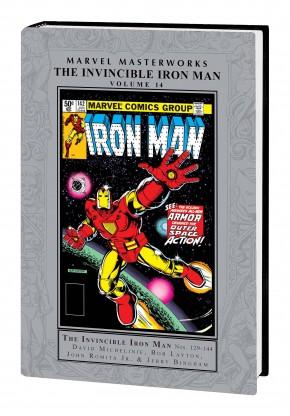 MARVEL MASTERWORKS INVINCIBLE IRON MAN VOLUME 14 HARDCOVER