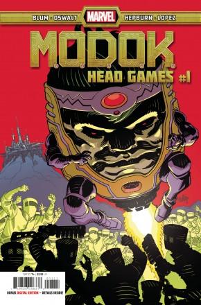 MODOK HEAD GAMES #1
