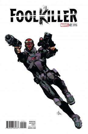 FOOLKILLER VOLUME 3 #2 DEODATO TEASER 1 IN 10 INCENTIVE VARIANT COVER