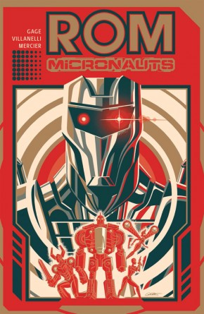 ROM AND THE MICRONAUTS GRAPHIC NOVEL