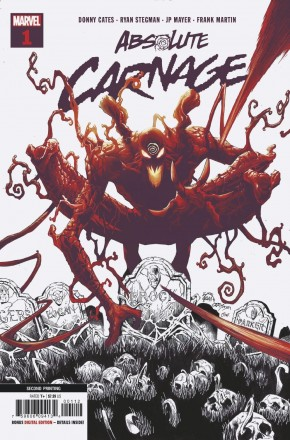 ABSOLUTE CARNAGE #1 2ND PRINTING