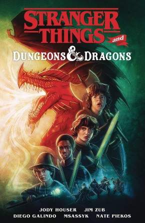 STRANGER THINGS AND DUNGEONS AND DRAGONS GRAPHIC NOVEL